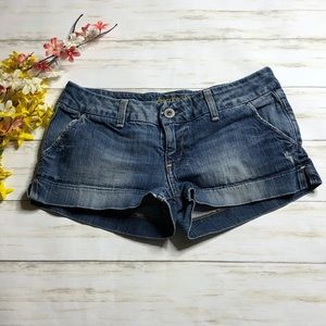 American Eagle Denim Jean Short Shorts